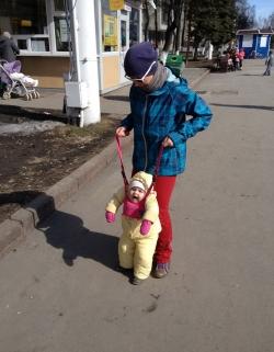 Весенне-осенний комбинезон Disney, б.у, 24 м.